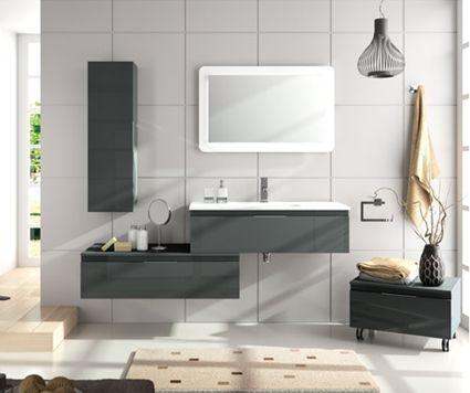 Muebles de baño suspendidos, una solución elegante