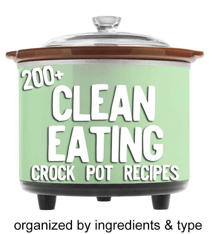 I'll have to try these out, love my slow cooker: 200+ Clean Eating crock pot recipes!