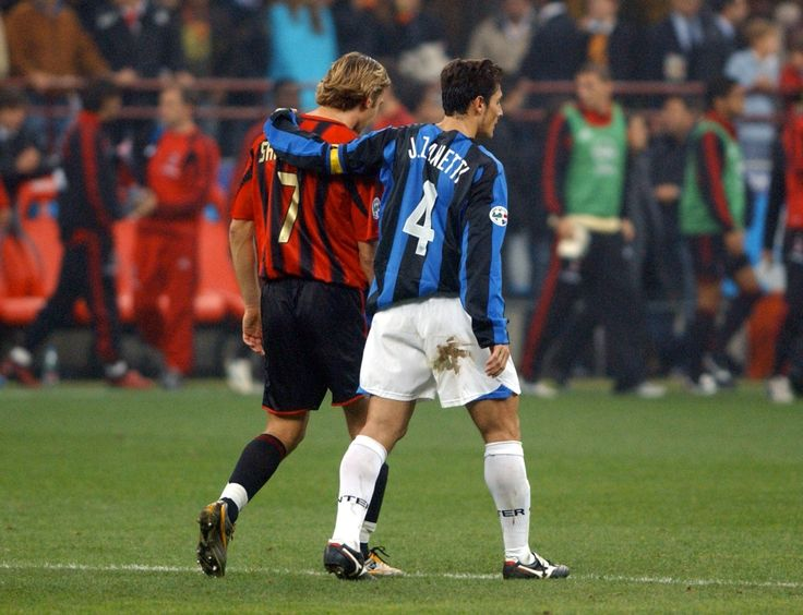 Andriy Shevchenko & Javier Zanetti - AC Milan & Inter Milan