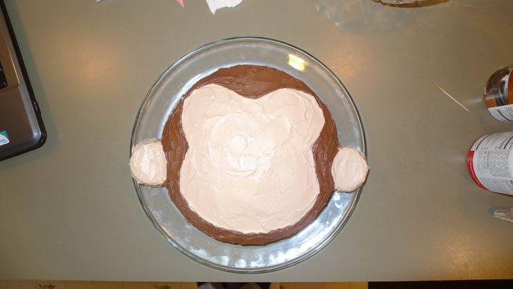 How To Make A Curious George Birthday Cake