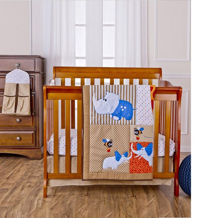 Jungle Babies Comforter Set by Dream On Me - 1