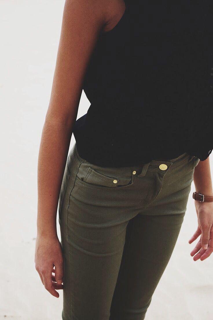Best 20  Olive Jeans ideas on Pinterest | Green jeans, Green jeans ...