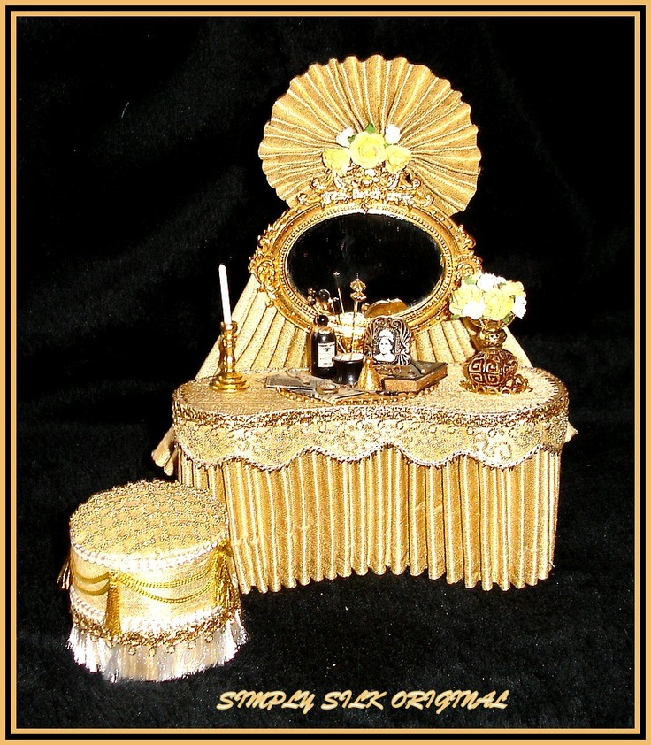 1000 Images About Dollhouse Miniature Dressing Table On
