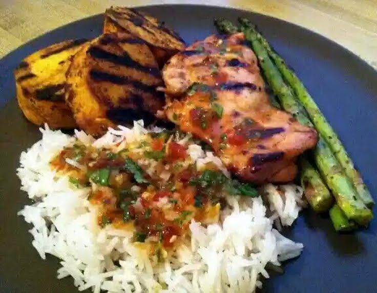 "Spicy Garlic Lime Chicken! 5.00 stars, 3 reviews. ""glad u like it ..."