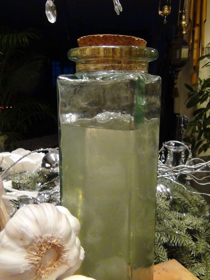 Nalewka czosnkowa, zdrowotna -KuchniaKwasiora
