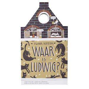 boek 97 | mijn recensie over Floor Rieder - Waar is Ludwig? | http://www.ikvindlezenleuk.nl/2017/10/rieder-ludwig/