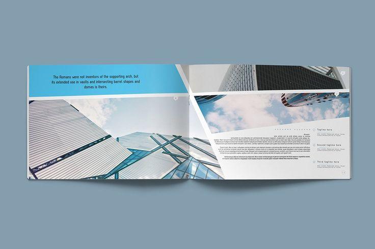 Novo Brochure by Kahuna Design on @creativemarket