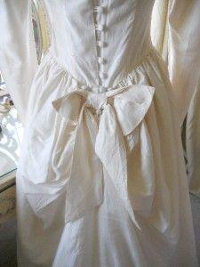 Vintage Laura Ashley Wedding Dress 12 EU 38 USA 8