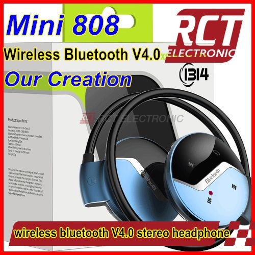 Wireless Bluetooth Stereo Foldable Headset Handsfree HeadphonesEarphone with Micphone for iPhone for Galaxy for HTC for Sony