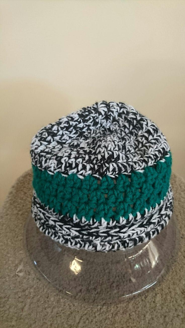 Crochet beanie,  washable