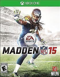 Madden NFL 15 Xbox One Xbox 1 BRAND NEW Buy with Confidence-Trusted Name!