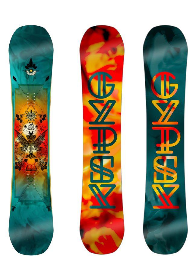 Salomon Gypsy Snowboard 2017