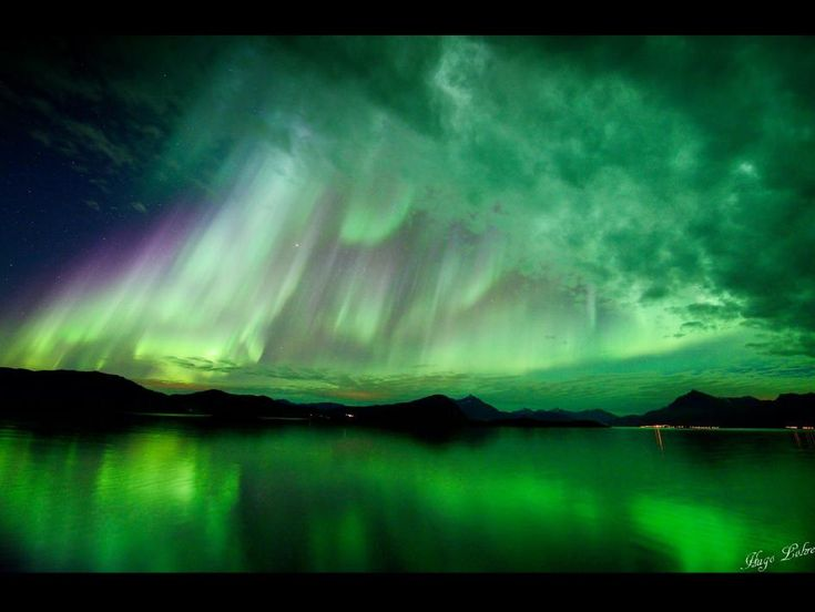 Beautiful!! ... NASA - A Norway Aurora from Oct. 10, 2012