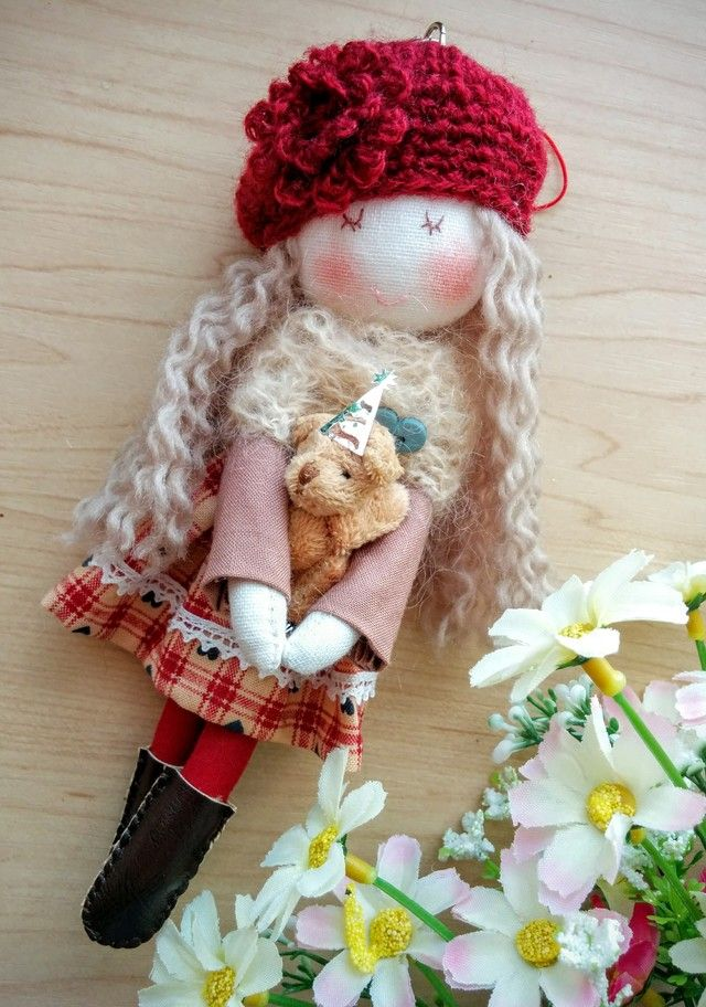 Stylish Doll (teddy bear)