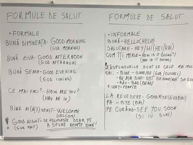 Secretele: Lecția de engleză pentru începători numărul 2 - FORMULE DE SALUT - cu Alexandra Ungureanu
