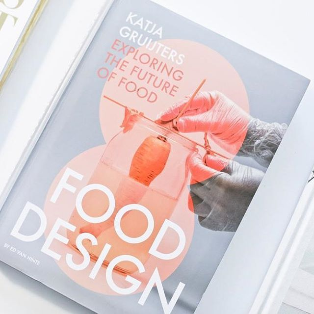 'Food Design', Katja Gruijters  book design by @studiorenateboere    Photo by Justina Nekrasaite @monsterkamer  .  .  .  #terra @katja.gruijters #edvanhinte @arctic_paper #duurzaamheid #sustainability #future #fooddesign #food #design #bookdesign #publication #identity #health #biology #art #book #graphicdesign #print