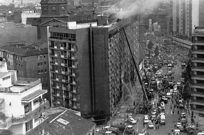 Maldito Insolente - El misterioso incendio del Hotel Corona de Aragón