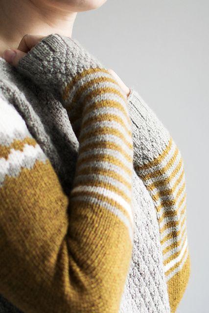 RhombingAround pattern by La Maison Rilili: FO by Trin-Annelie on ravelry. #knitting #pattern #knitindie