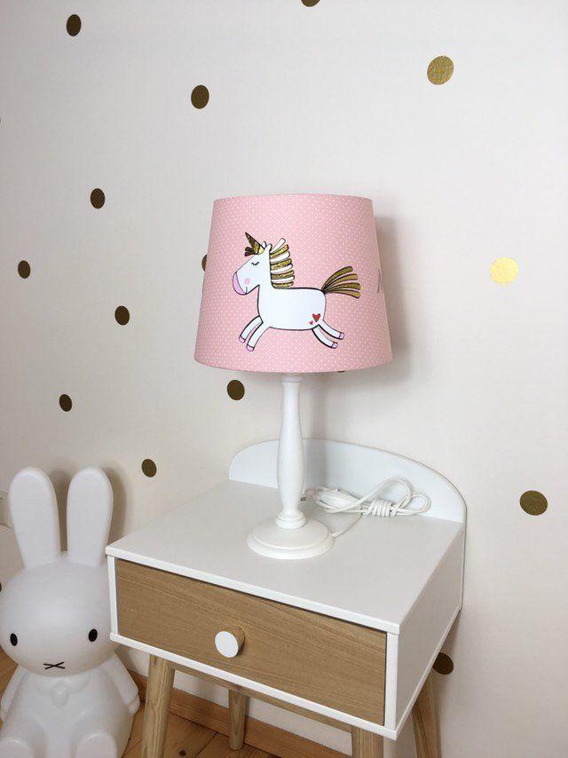 Tischlampe Kinderzimmer Einhorn Nachttischlampe Kinder Geschenke
