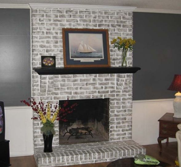 Fireplace ideas and Brick