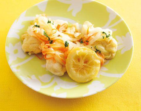 ささみの塩レモンマリネ | レシピ | ダイエット、レシピ、運動のことならフィッテ | FYTTE