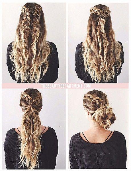Simple Updos For Long Thick Hair New Hair Styles Ideas Flettede Frisurer Har Og Skonhed Fletninger
