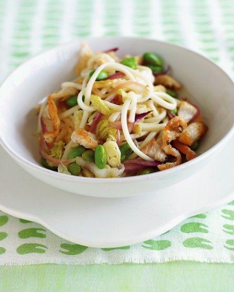 noodles με κοτόπουλο