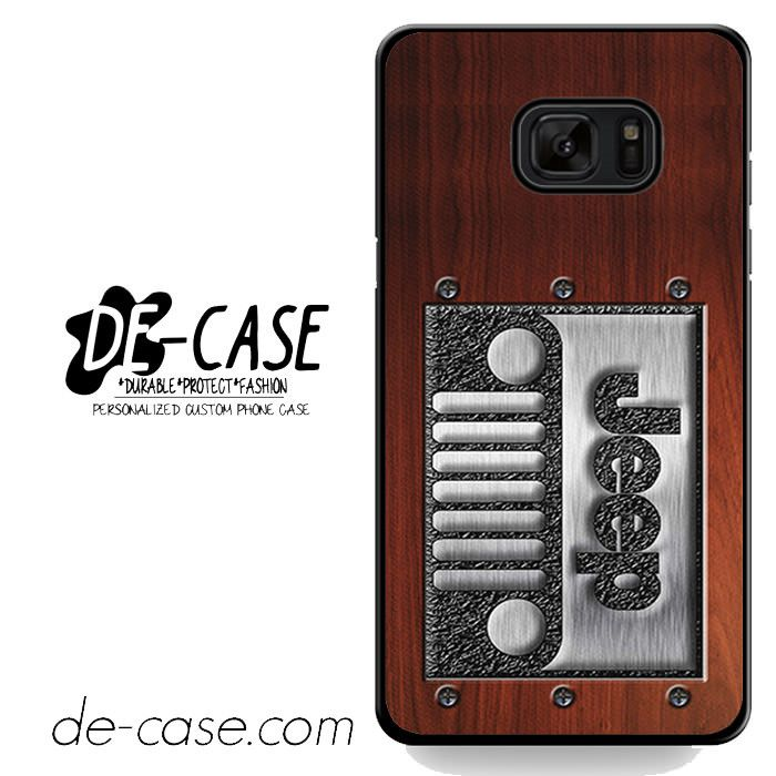 Embossed Steel Jeep DEAL-3932 Samsung Phonecase Cover For Samsung Galaxy Note 7