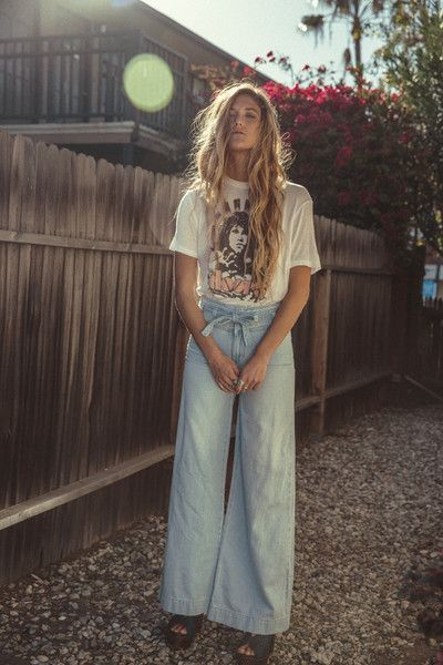 FREE PEOPLE Augusta Belted Flare