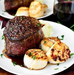 Surf and Turf for Two | 24 Amazing First Date Dinner Recipes To Get You A Second Date