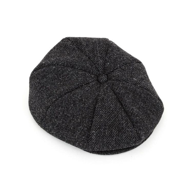 Joe McCoy JOE MCCOY TWEED GATSBY CAP