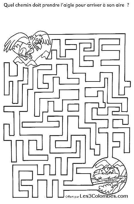 Best 25 labyrinthe imprimer ideas on pinterest - Jeux labyrinthe a imprimer ...