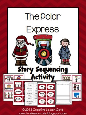 The Polar Express~ Sequencing Activity~ Creative Lesson Cafe from Creative Lesson Cafe on TeachersNotebook.com -  (21 pages)  - Kids adore the magical Christmas story, The Polar Express by Chris Van Allsburg. This sequencing activity is perfect to use after reading the story during the month of December, for an author study or with your Polar Express holiday unit.