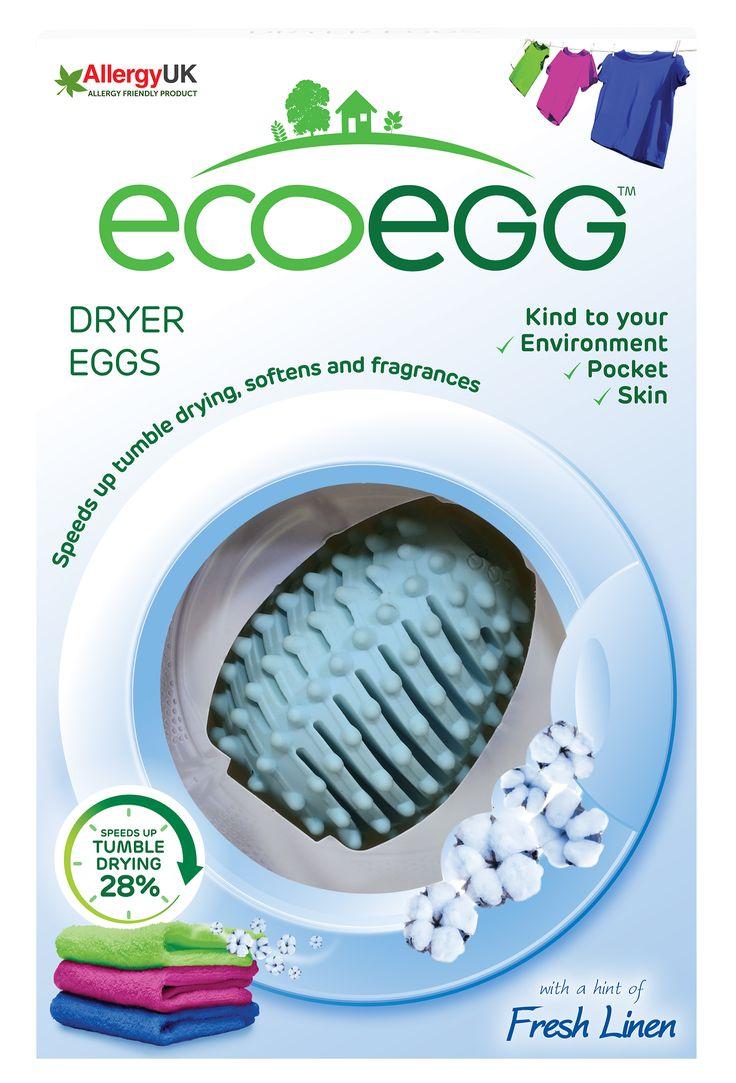 Vajíčko do sušičky s vůní Svěží bavlna Ecoegg (2 ks). Využijte dopravu zdarma při nákupu nad 890 Kč nebo výdejní místo zdarma v naší kamenné prodejně NuSpring v Praze.