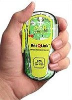ACR ResQLink PLB with GPS Worlds smallest personal locator beacon