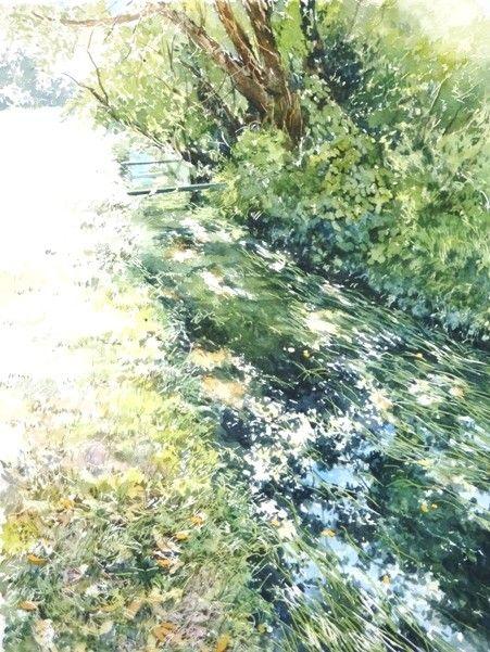 English - AbeToshiyuki watercolor gallery