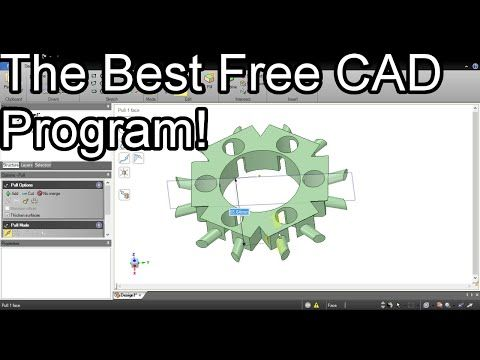 The Best Free CAD Program - DesignSpark Mechanical - YouTube better than solid works