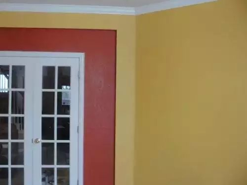 paint colors for an office. we painted our office the ralph lauren terracotta pot color and a gold with it really like but not paint colors for an
