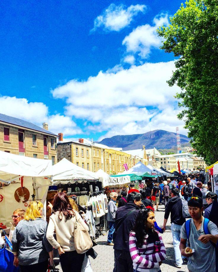 Colours of Salamanca Market