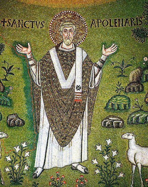św. Apolinary, mozaika z San Apollinare in Classe