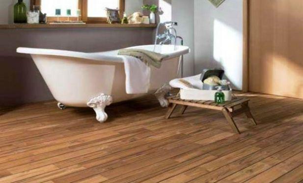 carrelage imitation teck | Bathroom, Parquet, Trendy home