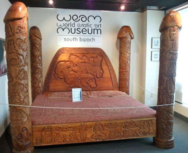 World Erotic Art Museum, South Beach Florida USA