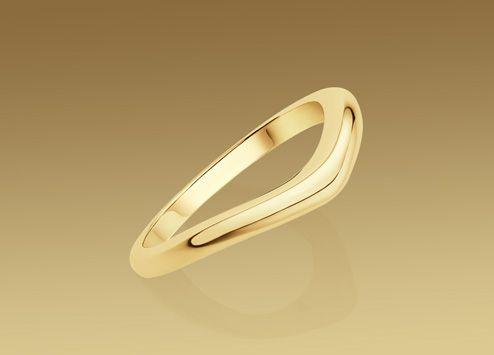 bulgari corona wedding band in 18 kt yellow gold gold wedding ringsgold