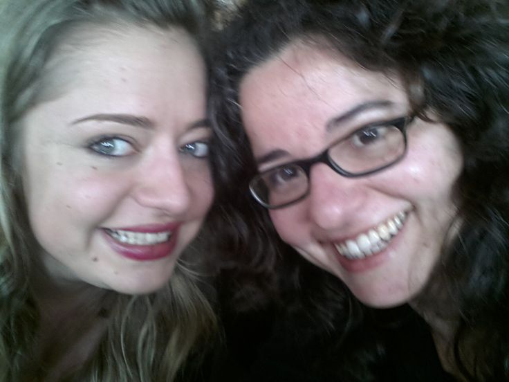 Io e @Veronica Gentili a @Villa Acquaviva per @Cowinning #unadonnadaurlo