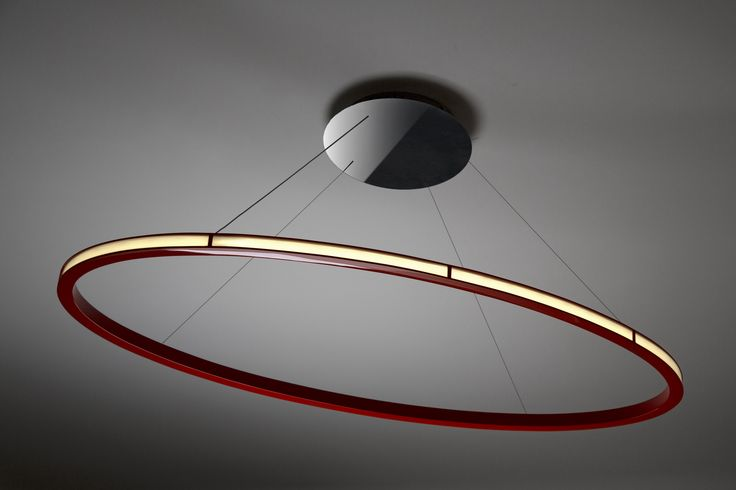 Eclipse | Hand designed luminaire | Design by Peter Danczkay  Oleant Eclipse Out 150 Ruby Red