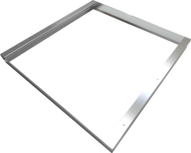 In cazul in care ai un panou LED cu dimensiunea de 60x60 cm pe care vrei sa il montezi aplicat, aceasta RAMA MONTAJ APLICAT PANOU LED 60X60CM din aluminiu este solutia simpla si estetica pentru tine.