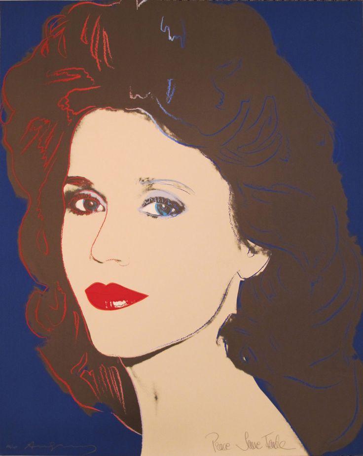 Andy Warhol | Jane Fonda 268 | 1982 | Hamilton-Selway