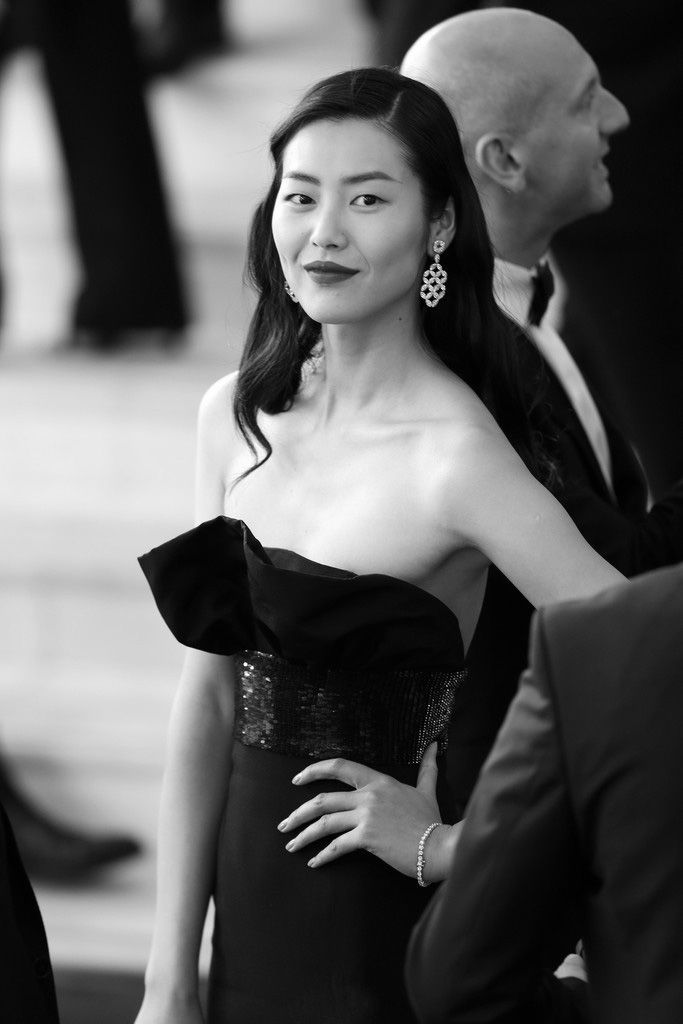 Liu Wen at Cannes 2014