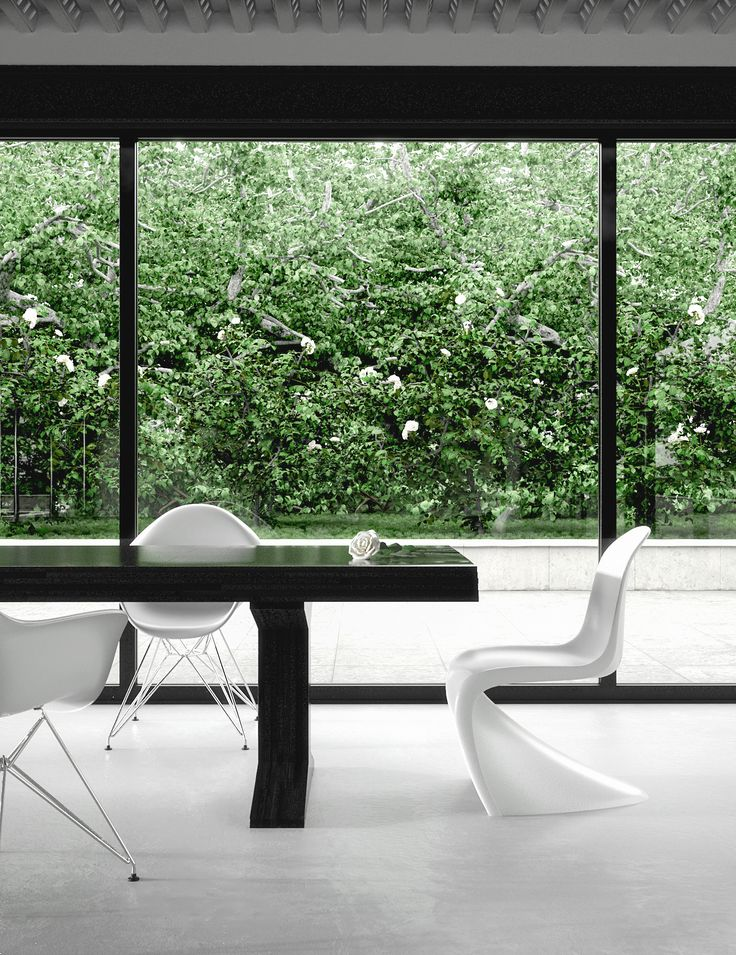 The House Was Invented By Me With Inspiration Both Farnsworth Mies Van Der Rohe And Glass Philip Johnson