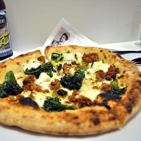 Spezie Pizza Fresh housemade Burrata Cheese, Broccolini, Spicy ...